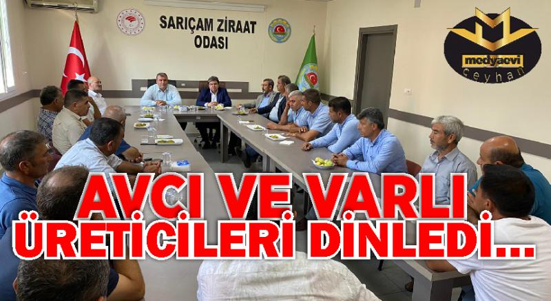 """""""Ankara'da tüm samimiyetimizle çiftçilerimizin sesiyiz"""""""