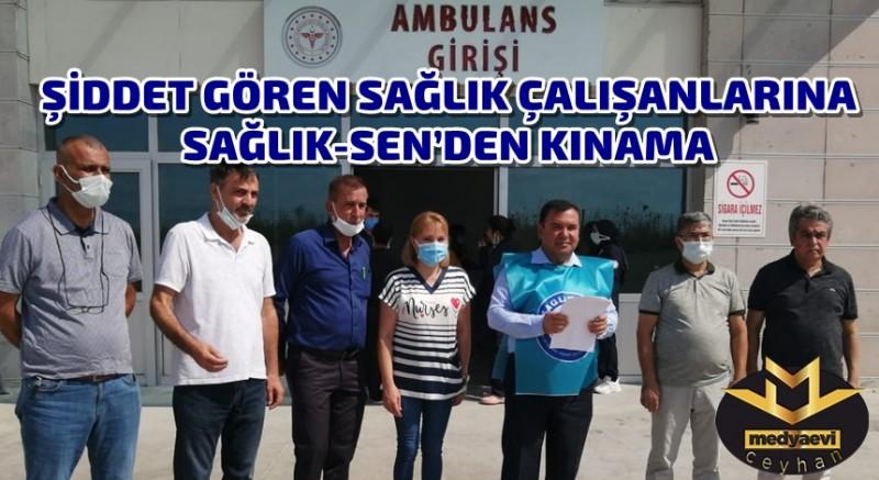 -Şiddet Gören Sağlık Çalışanlarına Sağlık-Sen'den destek
